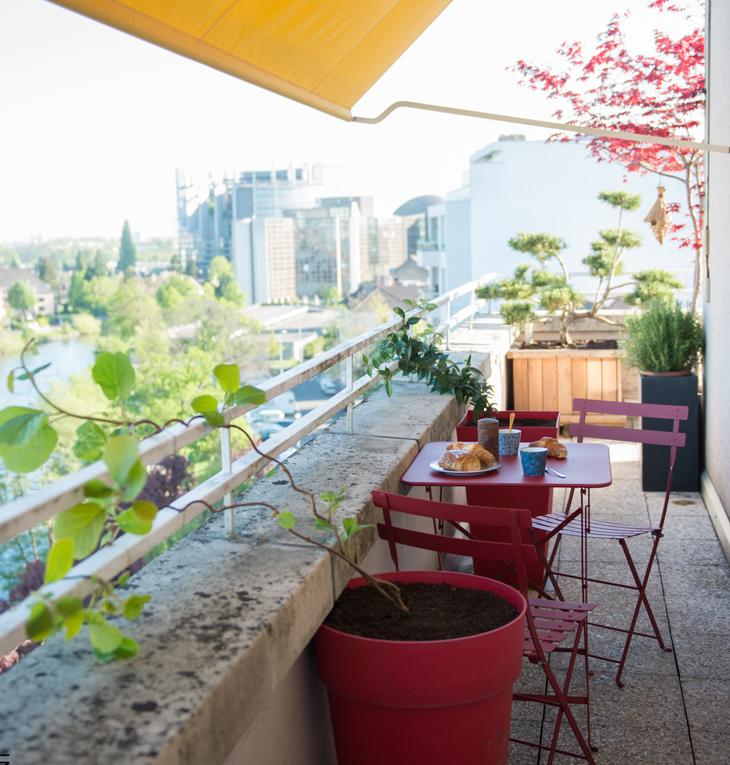 terrasse appartement privé